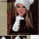 Değişik Örgü Bayan Şapka Modelleri