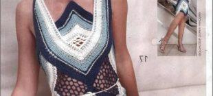 Örgü Abiye Elbise Modelleri