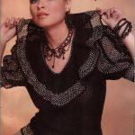 Renkli Örgü Bayan Kazak Modelleri