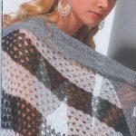 En Güzel Örgü Bayan Şal Modelleri