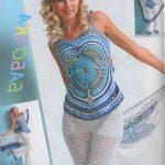 Son Moda Örgü Bayan Bluz Çeşitleri