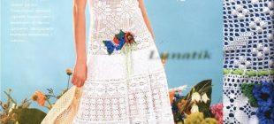 Yeni Örgü Bayan Elbise Modelleri