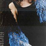 Kilim ve Motif Desenli Örgü Bayan Şal Modelleri