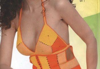 2013 Yazlık Örgü Bayan Bluz Modelleri