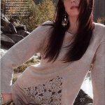 Bayan Kışlık Örgü Kazak Modelleri