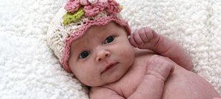 Örgü Bebek Şapkaları
