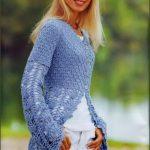 Yeni Sezon Bayan Örgü Trençkot ve Tunik Hırka Modelleri