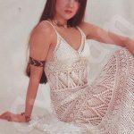 Bayan Uzun Örgü Elbiseleri