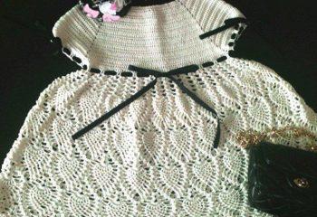 Kız Çocuk Örgü Elbise Modelleri