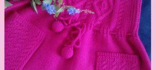 Kız Çocuk Yazlık Örgü Elbise Modelleri