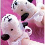Rengarenk Örgü Bebek Patiği Modelleri