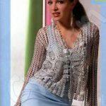Dantel Örgü Bayan Hırka Modelleri