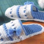 Örgü Çorap Terlik ve Ev Botu Modelleri