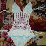 2014 Yazı Yeni Sezon Örgü Bikini ve Mayokini Modelleri