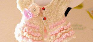 Bebek Örgü Hırka ve Yelek Modelleri