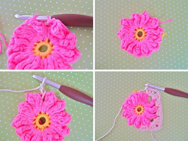 2 çiçek motifi yapılışı