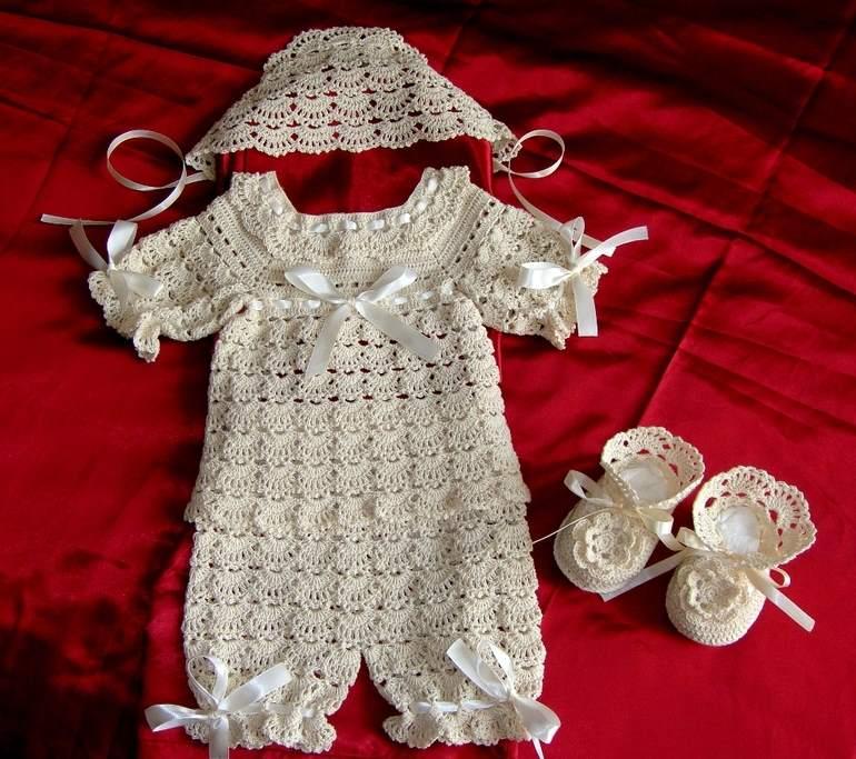 Вязание для новорожденных летние 161
