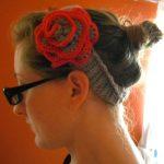 Çiçekli Saç Bantı Yapılışı