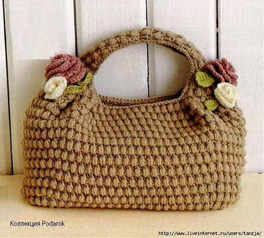 b04bf000a0e09 tığ işi el yapımı kadın çantaları – örgü el işleri kazak şal bebek ...